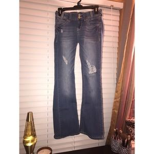 denim deluxe wallflower jeans